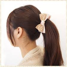 banana hair clip e piglet rakuten global market banana clip barrette ribbon