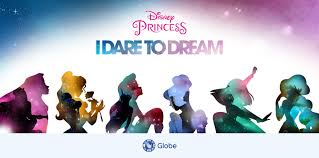 disney princess disney princess i dare to dream go globe