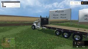 kenworth lkw kenworth flatbed bale truck v1 modhub us