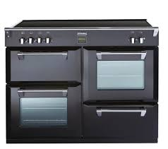 buy stoves richmond 1100ei electric induction range cooker black