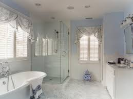 Bathroom Blinds Ideas Fun Frugal Perk Ups For Bathroom Windows Hgtv