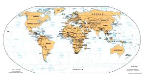 Maps Download Map World Perry Major Tourist Attractions Maps