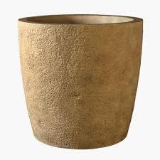 large textured concrete planters and pots stone yard inc