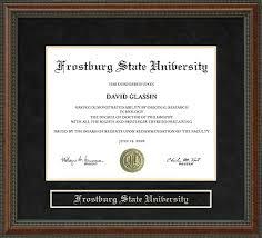 fsu diploma frame frostburg state fsu diploma frame everything