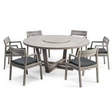 6 Seater Patio Furniture Set - ethimo costes dining set 6 seat houseology