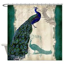 Green Color Curtains Peacock Shower Curtain With Dark Blue Green Color Also Beautiful