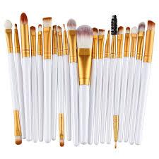 20pc makeup brush set u2013 zaura