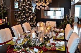 Christmas Centerpieces For The Dining Table by Christmas Dining Room Table Decoration Ideas Home Design