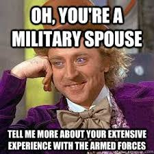 Military Wives Meme - deluxe military wives meme military wife memes image memes at