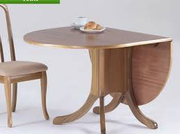 White Round Dining Table With Leaf Kitchen Drop Leaf Kitchen Table And 4 White Round Drop Leaf