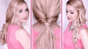 hairstyles quick and easy to do m everyday hair tutorial last minute hairstyles for school