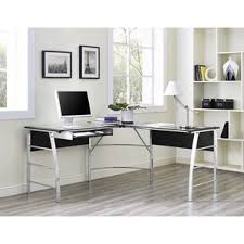 Office Computer Desks Glass Desks You U0027ll Love Wayfair