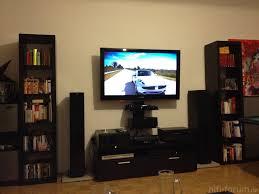 wohnzimmer fernsehwand fernseher wand stein fesselnd auf moderne deko ideen oder