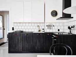 Knife Storage Ideas by Kitchen Nice Black Stained Wooden Cabinetry Convertinle Wall