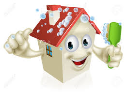 House Cleaning by An Illustration Of A Cartoon House Cleaning Mascot Giving A Thumbs