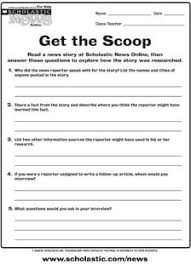 use scholastic news to practice u0027author u0027s point of view