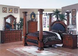 Four Poster Bedroom Sets Queen Poster Bedroom Sets 1000 Images About Cherry Wood 4 Poster