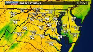 Tv Food Maps Washington Dc Weather On Wusa9 In Washington Dc