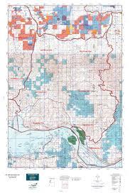 Washington Oregon Map by Wa Gmu 506 Willapa Hills Map Mytopo