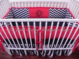 Pink Chevron Crib Bedding Baby Bedding Crib Set Bailey Black And Crib Bedding Just