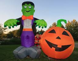 Inflatable Halloween Decorations Halloween Pictures Yikes