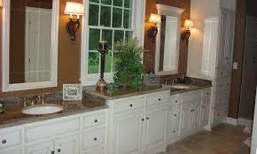 Custom Bathroom Cabinets Hardwood Custom Bathroom Cabinet Schlabach Wood Design