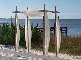 wedding arbor kits bamboo wedding arbor kit wedding