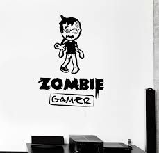 aliexpress com buy fashion children room wall decal zombie gamer