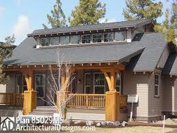 bungalow with great front porch 85029ms architectural designs