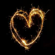 heart sparklers fireworks theme pyritz