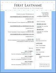 resume templates for free u2013 okurgezer co