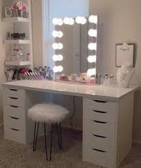 Bedroom Vanity Table With Drawers 13 Diy Makeup Organizer Ideas For Proper Storage Bathroom