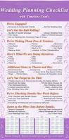 wedding planning checklist timeline printing and weddings
