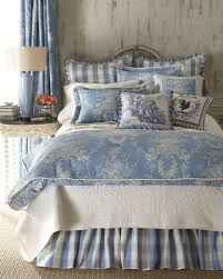 blue u0026 ivory country cottage toile bedding 2015 spring home
