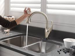 100 touch activated kitchen faucets delta addison touchless