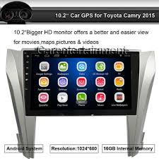 gps toyota camry android 10 2 car stereo player 2 din 1024x600 gps