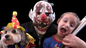 Giant Baby Halloween Costume Stalked Killer Clown Bad Baby Crybaby Daddy Toy Freaks Family