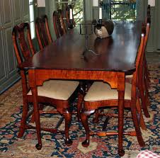Ethan Allen Queen Anne Dining Chairs Dining Table Ethan Allen Country French Dining Table And Chairs