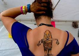 funny back lion tattoo for women tattoos for women