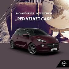 red velvet car and the winner is u2026 adamyourself opel online campaign has