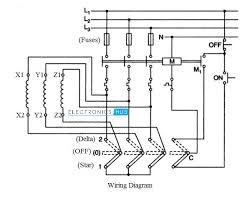 star delta starter for 3 phase motor