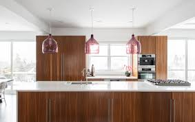Home Lighting Design Rules My Houzz Warm Walnut Rules In An Open Concept Canadian Home