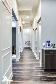 Office Desing Paneled Hallways And Organic Light Fixtures Dental Office Design