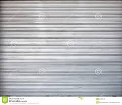 Garage Gate Design Gray Roller Shutter Metal Garage Gate Texture Stock Photo Image