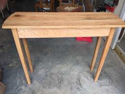 Red Oak Table by Red Oak Sofa Table I Made This Table For My Wife To Put In The