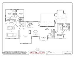 16 x 24 floor plan plans by davis frame weekend timber frame house plan best open concept floor plans bungalowhouses open