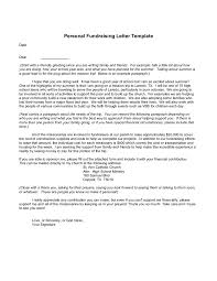Sample Of Fundraising Letter by Personal Letter Format How To Write Personal Letter Templates