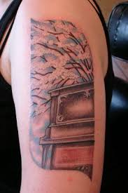 music musical instruments piano tattoo image galleries music