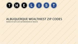 Wichita Zip Code Map Here U0027s An Interactive Map Of New Mexico U0027s Wealthiest Zip Codes