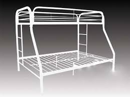 White Metal Bunk Bed Metal Bunk Bed Frame White Nyfastfurniture
